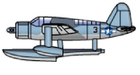 OS2U1 Kingfisher Seaplane #TSM4201