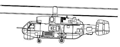 KA27 Helix Helicopter #TSM4202