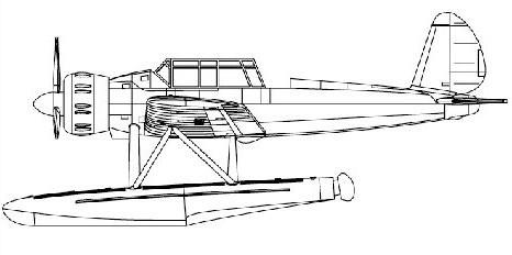 Arado Ar.196 Seaplane #TSM4203