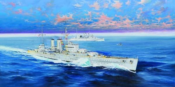 HMS Exeter British Cruiser #TSM5350