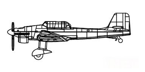 Ju.87 Aircraft Set #TSM6280