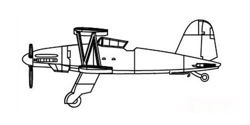 Fi.167 Aircraft Set #TSM6281