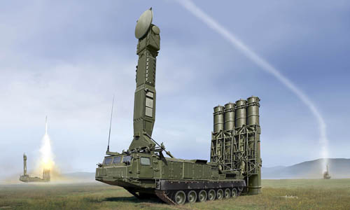 Russian S300V 9A83 Surface-to-Air (SAM) Missile Launcher (New Tool) #TSM9519