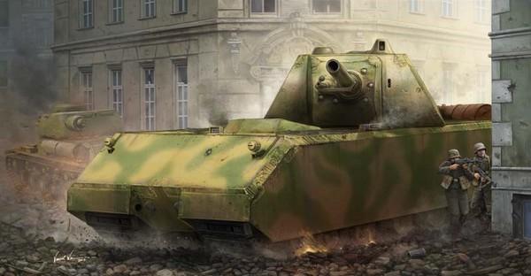 Pz.Kpfw. VII Maus Tank (New Tool) #TSM9541