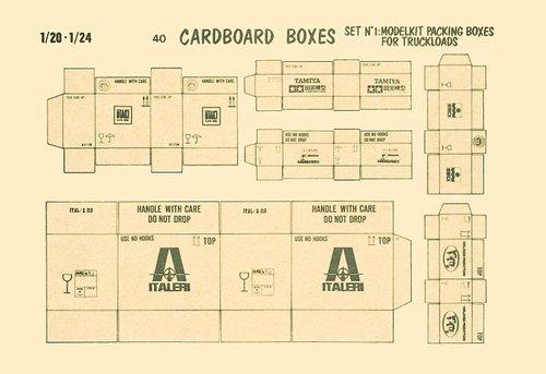 Cardboard Boxes/Model Brands #VPI40