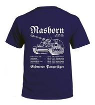 Militrack Nashorn Shirt - Support the Reconstruction of a 1:1 Nashorn - Pre-Order Item #MILIBLNASHORN