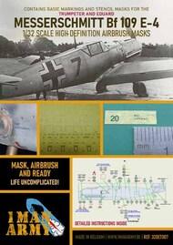1ManArmy  1/32 Messerschmitt Bf.109E-4 Masks 32DET007