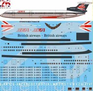 26 Decals  1/144 BEA Hawker Siddeley Trident 3B STS44319
