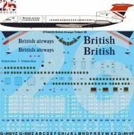26 Decals  1/144 British Airways Hawker Siddeley Trident 3B STS44320