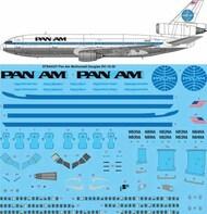 26 Decals  1/144 PAN AM McDonnell Douglas DC-10-30 STS44337