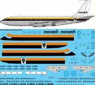 26 Decals  1/144 Monarch Boeing 720B STS44338