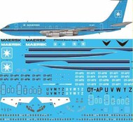 26 Decals  1/144 Maersk Air Boeing 720B STS44339