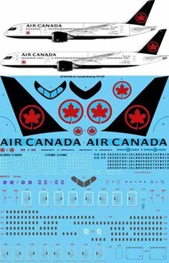 26 Decals  1/144 Air Canada 2018 Boeing 787-8/9 STS44346