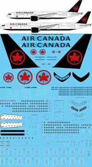 26 Decals  1/144 Air Canada 2018 Boeing 777-233LR/333ER STS44349
