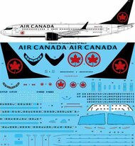26 Decals  1/144 Air Canada 2018 Boeing 737 Max8 STS44351