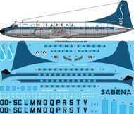 26 Decals  1/144 Sabena Convair 440 - Pre-Order Item STS44353