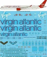 26 Decals  1/144 Virgin Atlantic Airbus A350-1041 Screen printed decal (Zvezda) STS44356