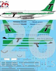 26 Decals  1/144 Transavia Holland Delivery Boeing 737-200 STS44359