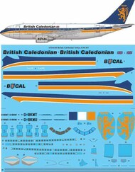 26 Decals  1/144 British Caledonian Airbus A310-200 STS44365