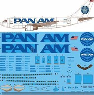 26 Decals  1/144 Pan Am Airbus A310-200 STS44367