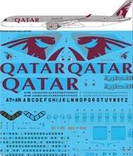 26 Decals  1/144 QATAR Airways Airbus A350-1041 STS44369