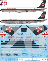 BEA Airtours Boeing 707-400 #STS44400