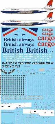 26 Decals  1/72 British Airways Boeing 707-336B/C STS7210