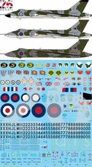 26 Decals  1/72 RAF Camouflaged Avro Vulcan B.2 STS7219