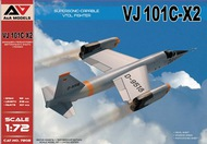 A & A Models  1/72 VJ101C-X2 Supersonic Capable VTOL Fighter AAM72002