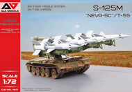 """A & A Models  1/72 SA-3 ôGOA"""" (S-125 M ôNeva-SC"""") missile system on T-55 chassis AAM72017"""