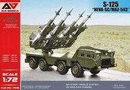A & A Models  1/72 S-125 'Neva -SC' missile system on MAZ-543 chassis Kit AAM7218