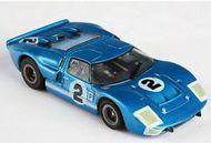 AFX RACING  HO Ford GT40 #2 LeMans (Sebring) Mega-G (D)<!-- _Disc_ --> AFX21006
