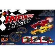 AFX RACING  HO Infinity Raceway Race Car Set AFX21016