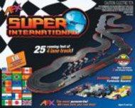 AFX RACING  HO 4-Lane Super International Race Car Set AFX21018