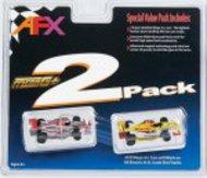 AFX RACING  HO Formula 1 Twin Pack Mega-G+ AFX21021