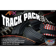 AFX RACING  HO Track Pack to Convert Small Track to Larger (40pcs) AFX21045