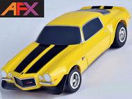 AFX RACING  HO 1970 Camaro Z28 (Yellow) Mega-G+ AFX21048