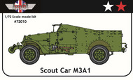 AGB Models  1/72 M3A1 Scout Car USA/USSR AGB72010