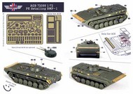 AGB Models  1/72 Soviet BMP-1 , PE Detail Set AGB72099