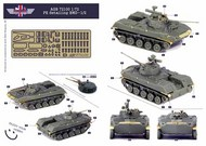 Soviet BMD-1/BMD-2 Detail Set #AGB72100