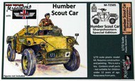 AGB Models  1/72 Humber Scout Car Mk.I/II Sharpshooter's regiment AGB72505