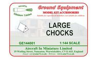 AIM - Ground Equipment  1/144 Chocks. Http://www.aim72.co.uk/page72.html GE144001