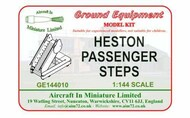 AIM - Ground Equipment  1/144 Heston steps GE144010