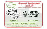 AIM - Ground Equipment  1/144 MD300 RAF tractor.  http://www.aim72.co.uk/page80.html GE144012