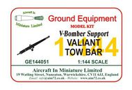 AIM - Ground Equipment  1/144 Vickers Valiant Mk.1/B.2 Tow Bar  (V-Bomber support series) - go to the Aircraft In Miniature web page.http://www.aim72.co.uk/page120.html (desig GE144051