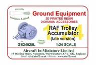 AIM - Ground Equipment  1/24 Trolley - Accumulator (Late Version) GE24025L