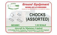 AIM - Ground Equipment  1/32 Chocks. http://www.aim72.co.uk/page72.html GE32001