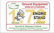 AIM - Ground Equipment  1/72 Engine stand.  http://www.aim72.co.uk/page56.html GE72003
