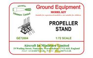 AIM - Ground Equipment  1/72 Propeller stand.  http://www.aim72.co.uk/page57.html GE72004