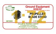AIM - Ground Equipment  1/72 Propeller blade rack. http://www.aim72.co.uk/page140.html GE72005